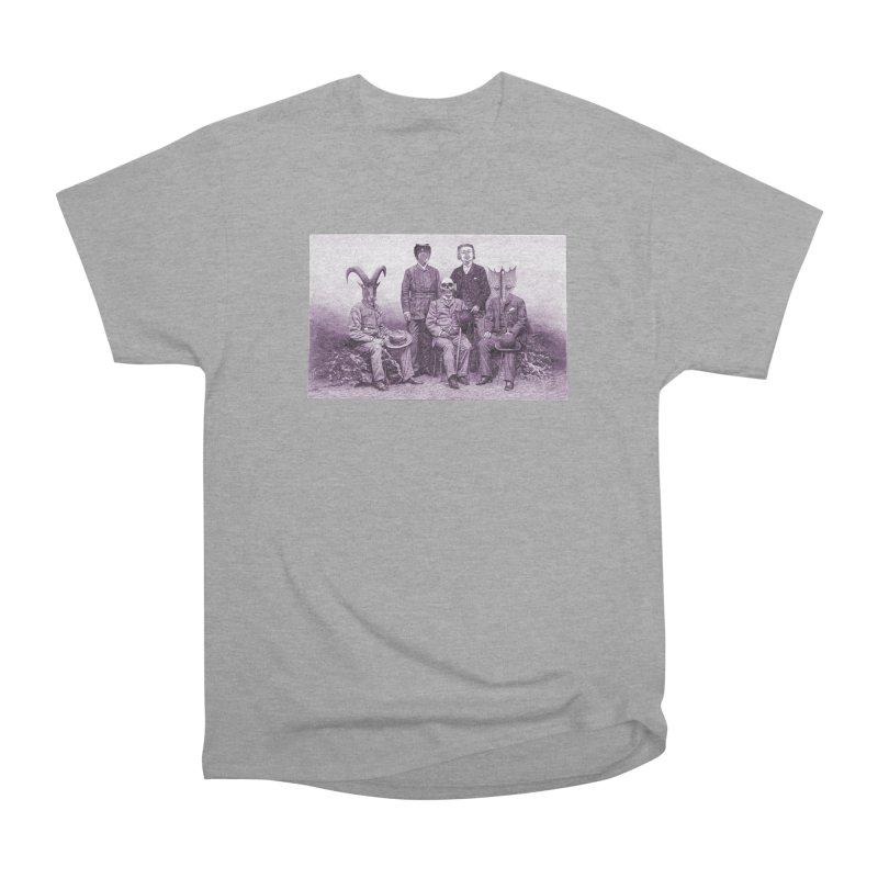 5 Figures Men's Heavyweight T-Shirt by Artist Shop of Pyramid Expander