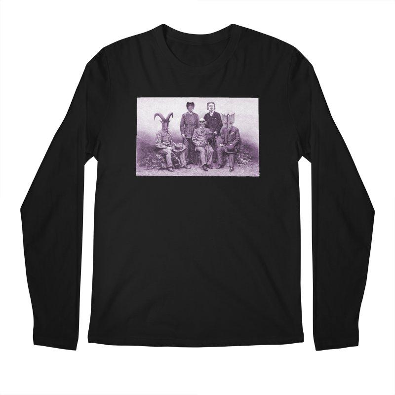5 Figures Men's Regular Longsleeve T-Shirt by Artist Shop of Pyramid Expander