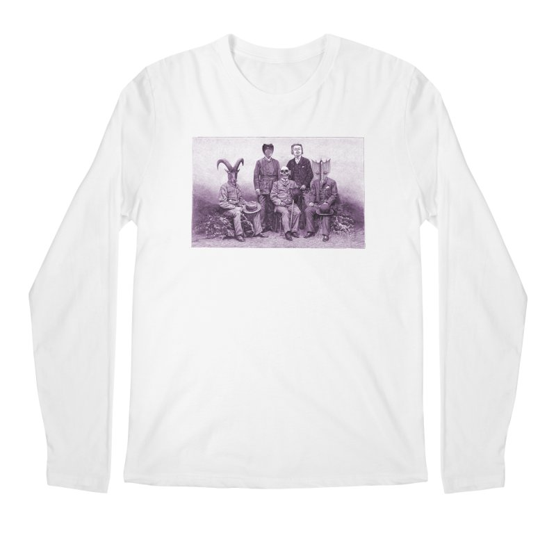 5 Figures Men's Regular Longsleeve T-Shirt by Artist Shop of Pyramid Expander