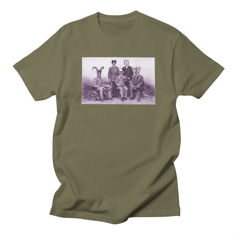 5 Figures Men's T-Shirt by Artist Shop of Pyramid Expander