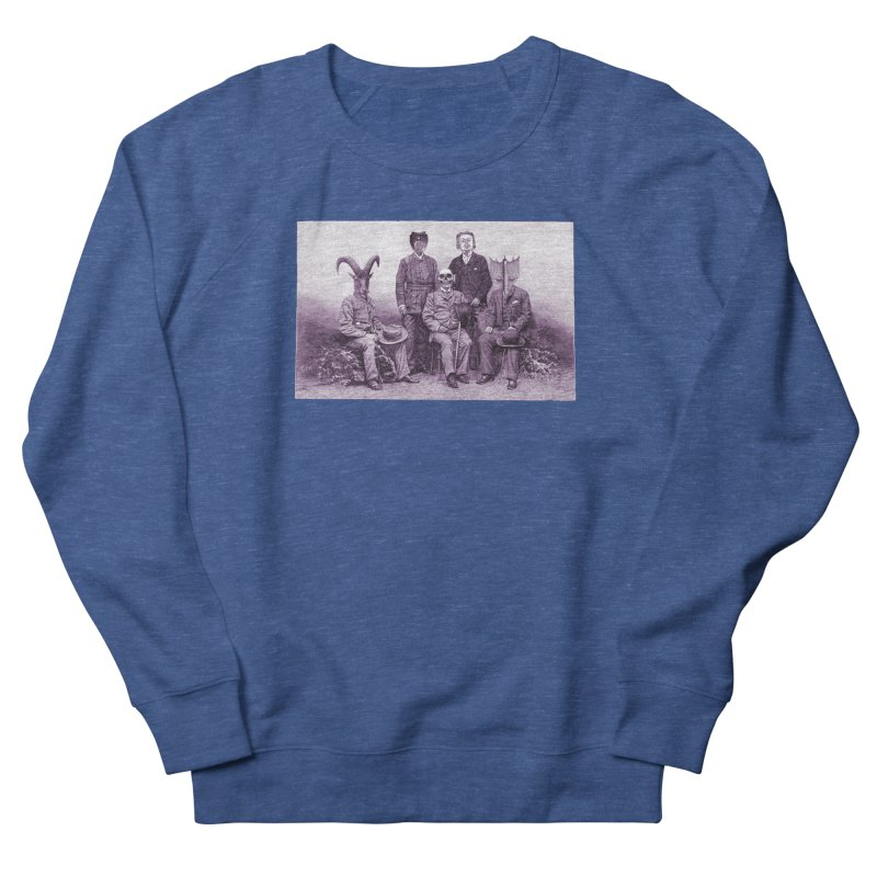 5 Figures Women's French Terry Sweatshirt by Artist Shop of Pyramid Expander