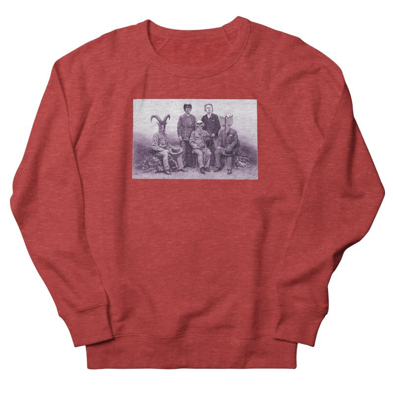 5 Figures Men's French Terry Sweatshirt by Artist Shop of Pyramid Expander