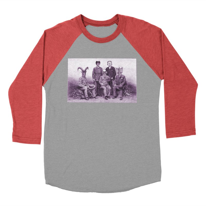 5 Figures Women's Baseball Triblend T-Shirt by Artist Shop of Pyramid Expander