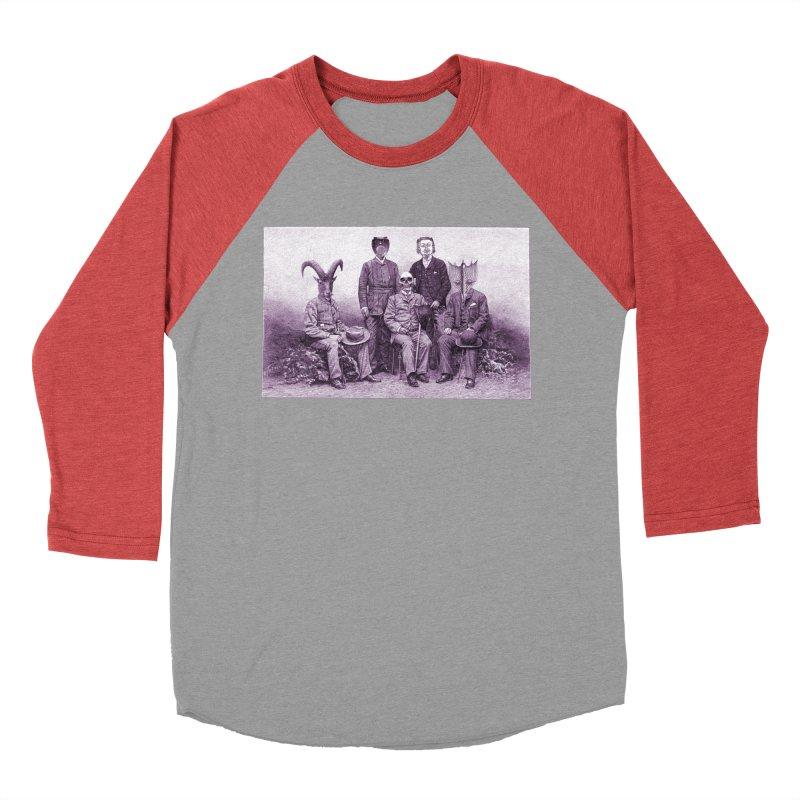 5 Figures Men's Baseball Triblend T-Shirt by Artist Shop of Pyramid Expander