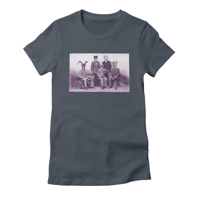 5 Figures Women's T-Shirt by Artist Shop of Pyramid Expander