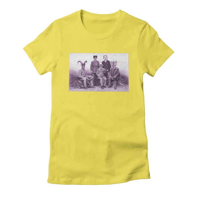 5 Figures Women's Fitted T-Shirt by Artist Shop of Pyramid Expander