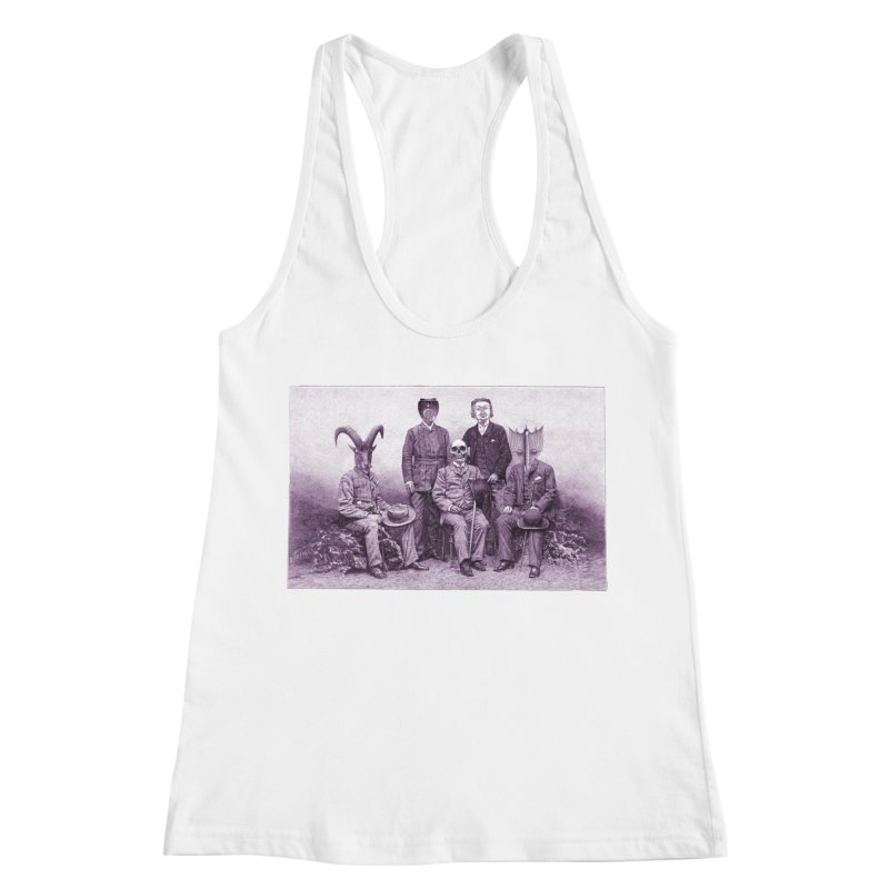 5 Figures Women's Racerback Tank by Artist Shop of Pyramid Expander