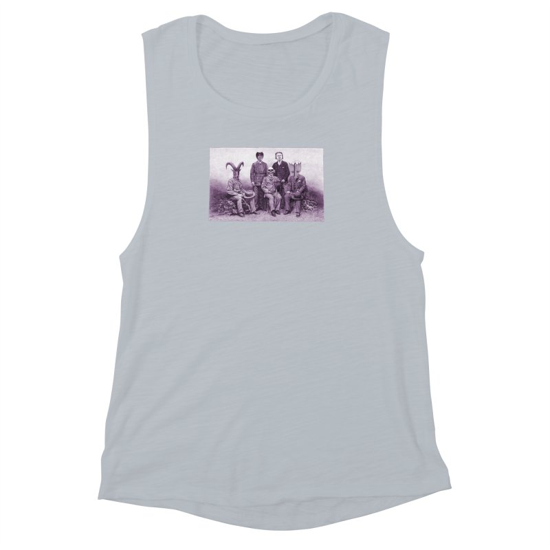 5 Figures Women's Muscle Tank by Artist Shop of Pyramid Expander