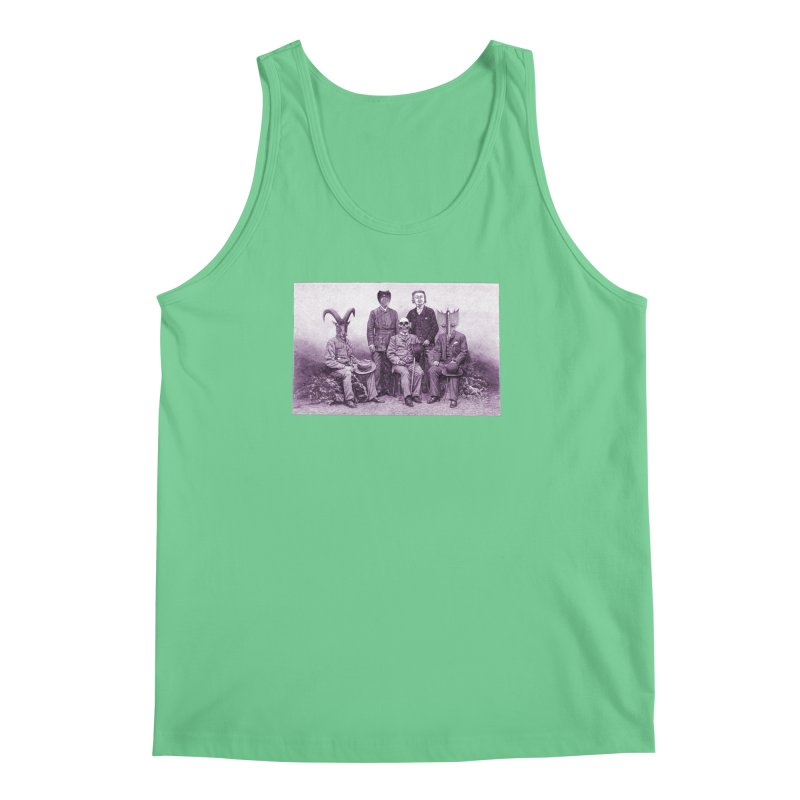 5 Figures Men's Tank by Artist Shop of Pyramid Expander