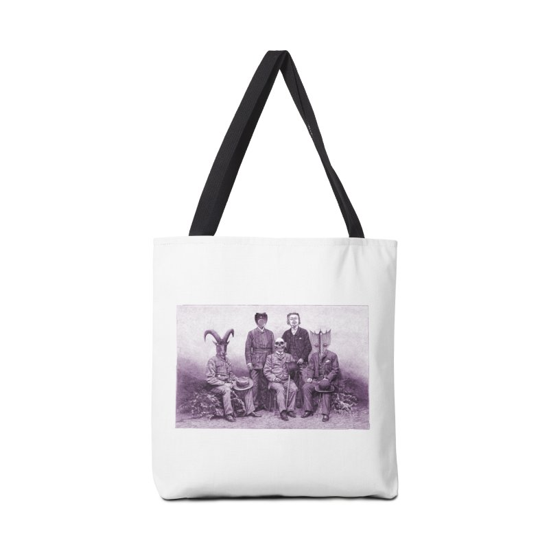 5 Figures Accessories Tote Bag Bag by Artist Shop of Pyramid Expander