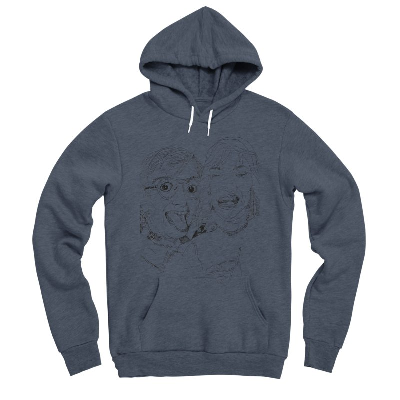 Yearbook Faces Women's Sponge Fleece Pullover Hoody by Artist Shop of Pyramid Expander