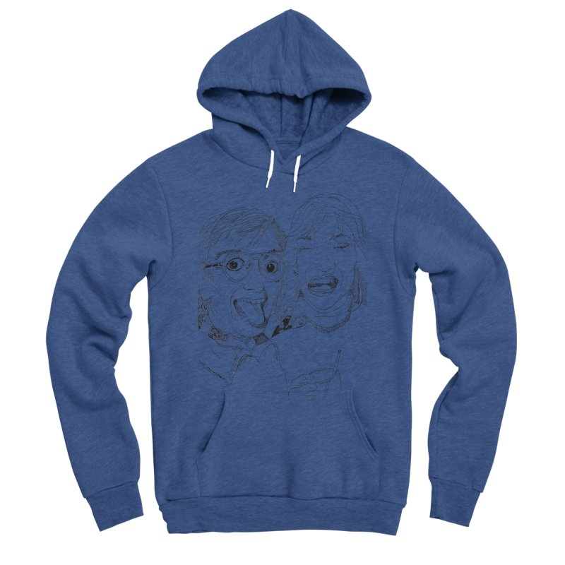 Yearbook Faces Men's Sponge Fleece Pullover Hoody by Artist Shop of Pyramid Expander