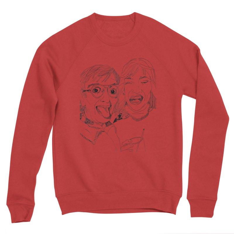 Yearbook Faces Men's Sponge Fleece Sweatshirt by Artist Shop of Pyramid Expander