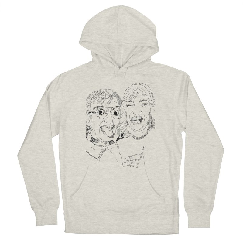 Yearbook Faces Women's Pullover Hoody by Artist Shop of Pyramid Expander