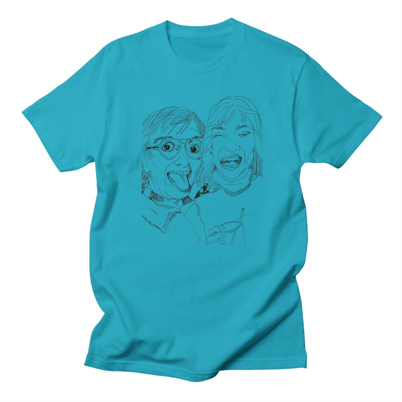 Yearbook Faces Women's Unisex T-Shirt by Artist Shop of Pyramid Expander