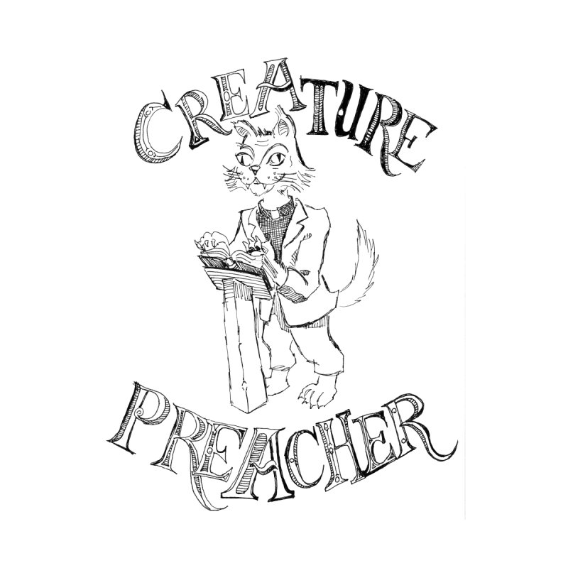Creature Preacher Men's T-shirt by Artist Shop of Pyramid Expander