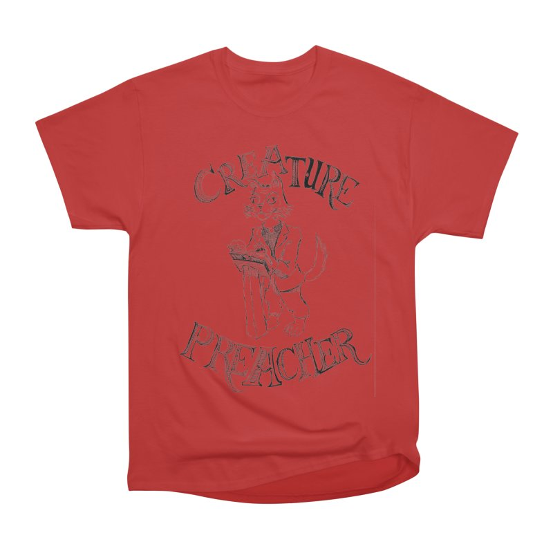 Creature Preacher Women's Classic Unisex T-Shirt by Artist Shop of Pyramid Expander