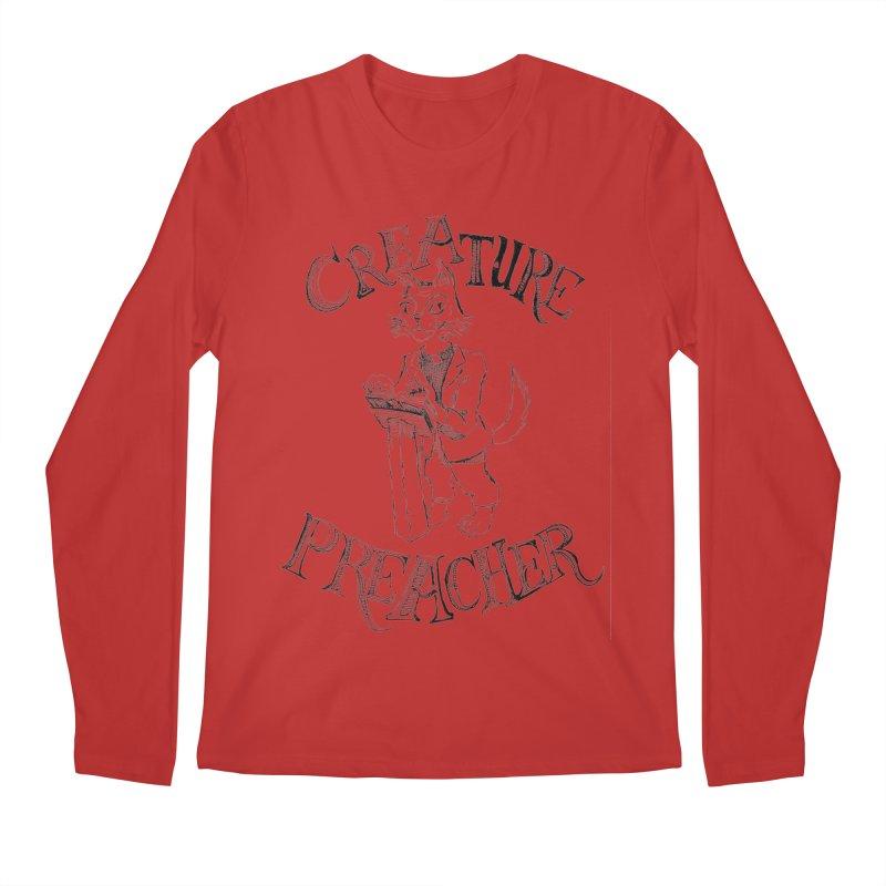 Creature Preacher Men's Longsleeve T-Shirt by Artist Shop of Pyramid Expander
