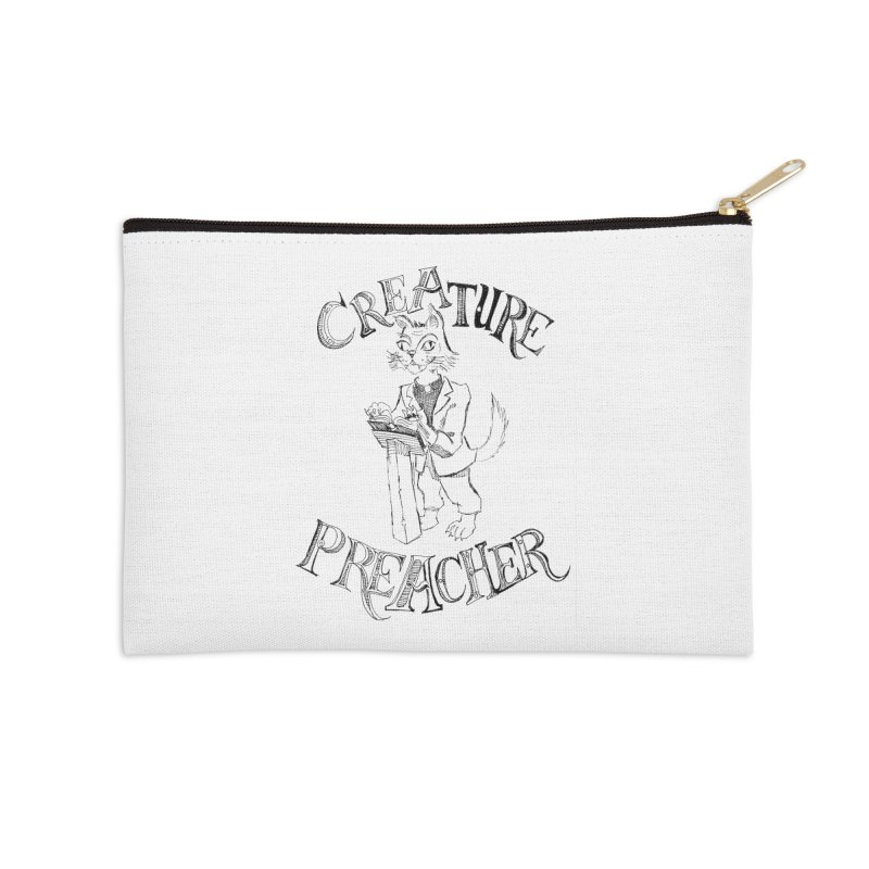 Creature Preacher Accessories Zip Pouch by Artist Shop of Pyramid Expander