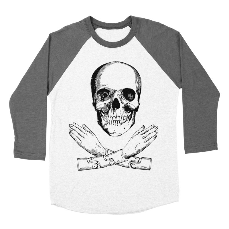 Skull and Mechanical Arms Women's Longsleeve T-Shirt by Artist Shop of Pyramid Expander
