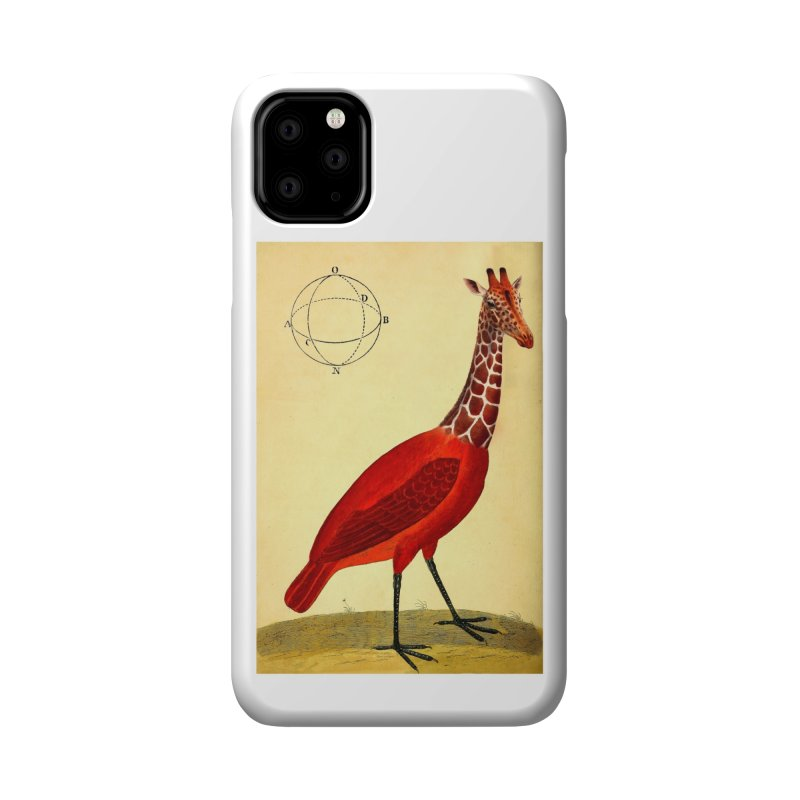 Bird Giraffe Accessories Phone Case by Artist Shop of Pyramid Expander