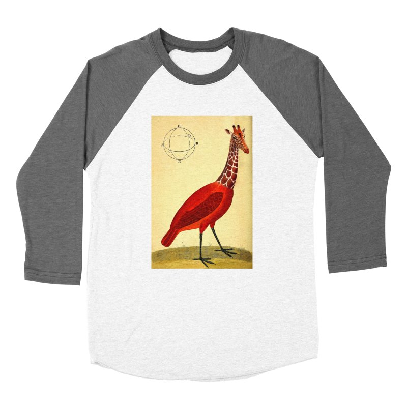 Bird Giraffe Women's Longsleeve T-Shirt by Artist Shop of Pyramid Expander