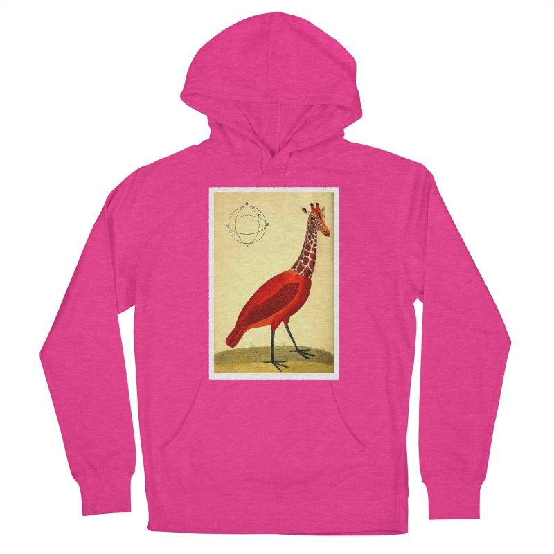 Bird Giraffe Men's Pullover Hoody by Artist Shop of Pyramid Expander