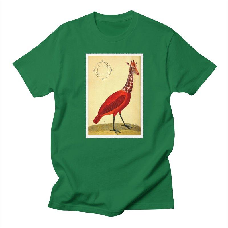 Bird Giraffe Women's Unisex T-Shirt by Artist Shop of Pyramid Expander