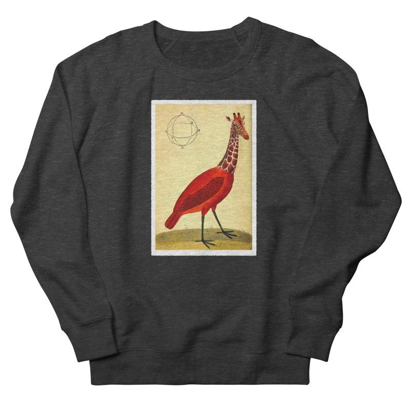 Bird Giraffe Women's Sweatshirt by Artist Shop of Pyramid Expander