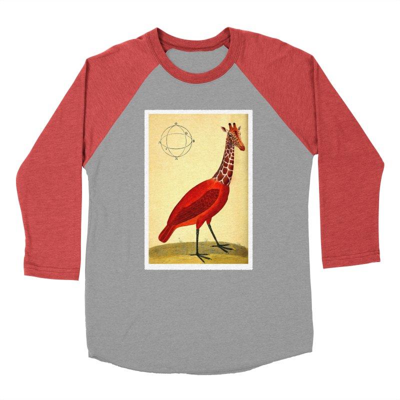 Bird Giraffe Men's Longsleeve T-Shirt by Artist Shop of Pyramid Expander