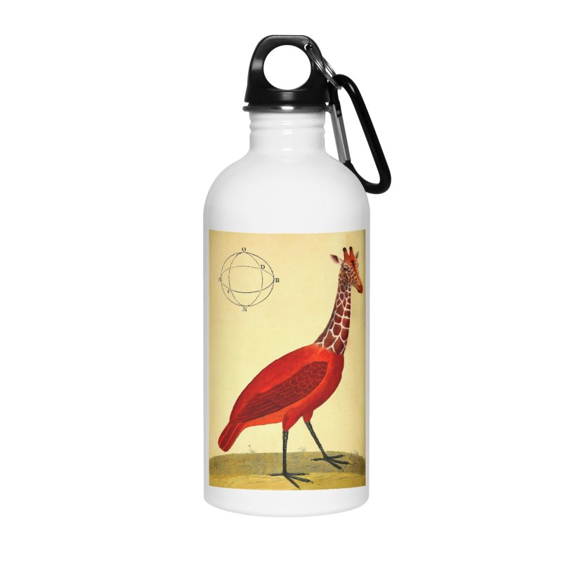 Bird Giraffe Accessories Water Bottle by Artist Shop of Pyramid Expander