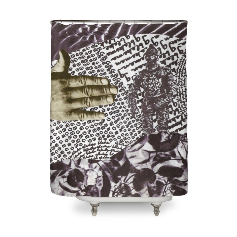 Wave Protection Home Shower Curtain by Artist Shop of Pyramid Expander