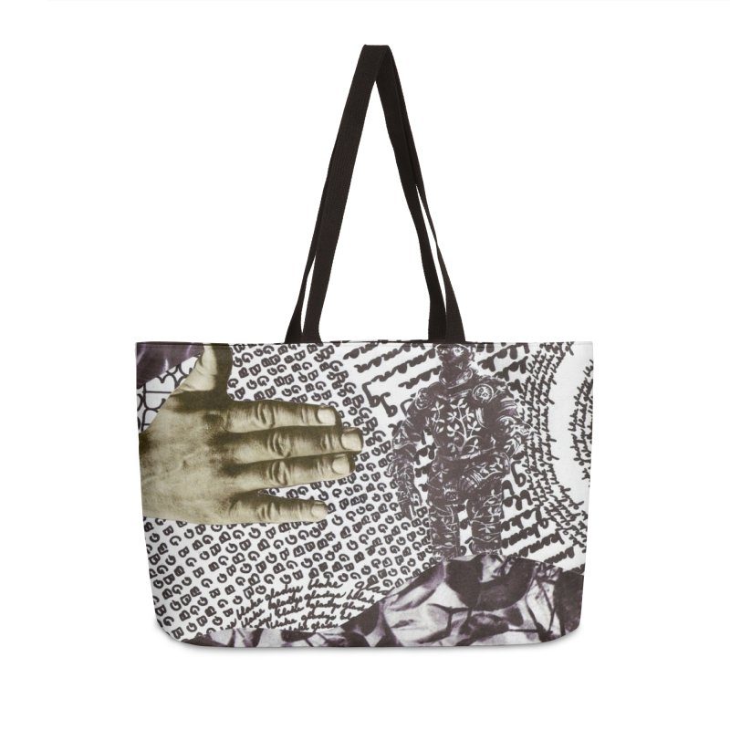 Wave Protection Accessories Weekender Bag Bag by Artist Shop of Pyramid Expander