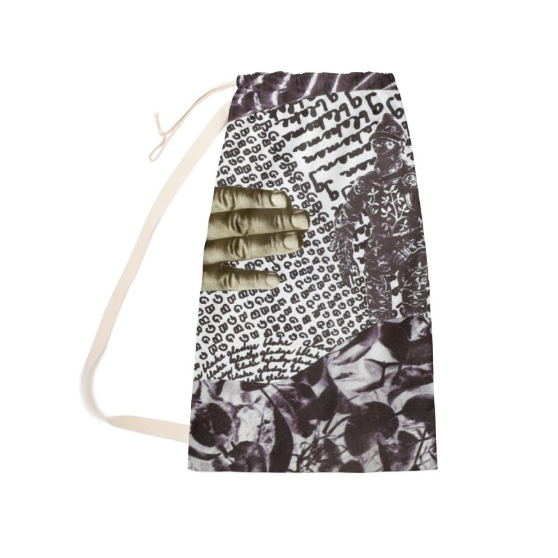 Wave Protection Accessories Laundry Bag Bag by Artist Shop of Pyramid Expander