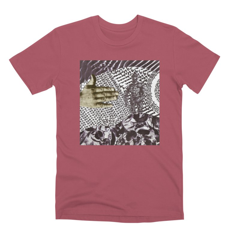 Wave Protection Men's Premium T-Shirt by Artist Shop of Pyramid Expander