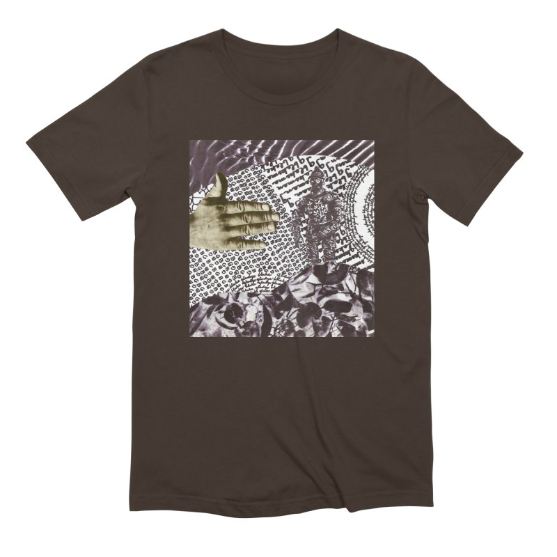 Wave Protection Men's Extra Soft T-Shirt by Artist Shop of Pyramid Expander