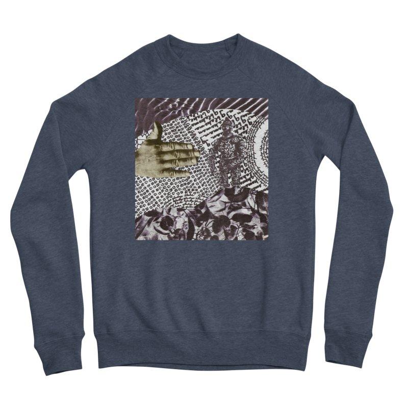 Wave Protection Men's Sponge Fleece Sweatshirt by Artist Shop of Pyramid Expander