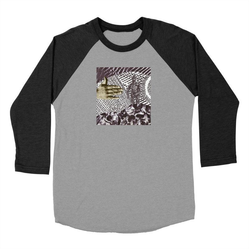 Wave Protection Men's Baseball Triblend Longsleeve T-Shirt by Artist Shop of Pyramid Expander