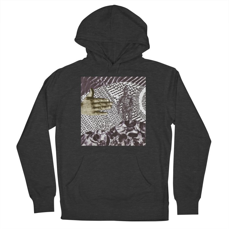 Wave Protection Men's French Terry Pullover Hoody by Artist Shop of Pyramid Expander