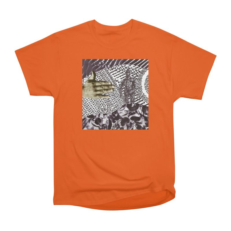 Wave Protection Men's Heavyweight T-Shirt by Artist Shop of Pyramid Expander