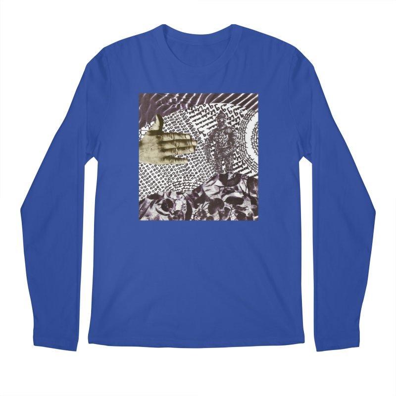 Wave Protection Men's Regular Longsleeve T-Shirt by Artist Shop of Pyramid Expander