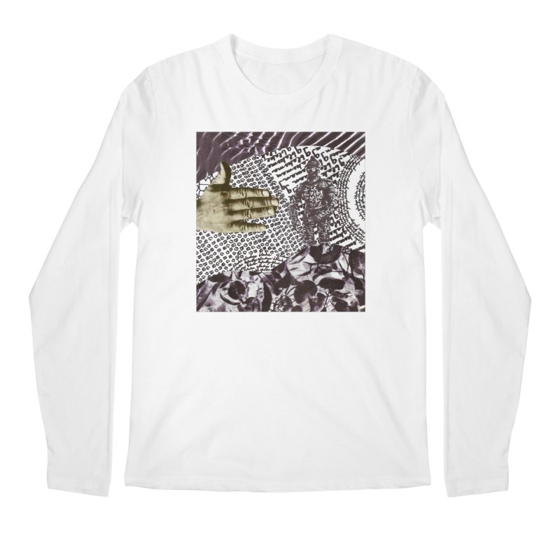 Wave Protection Men's Regular Longsleeve T-Shirt by Artist Shop of Pyramid Expander