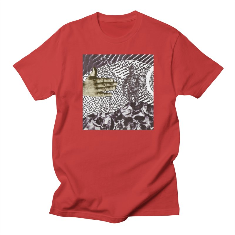 Wave Protection Men's Regular T-Shirt by Artist Shop of Pyramid Expander