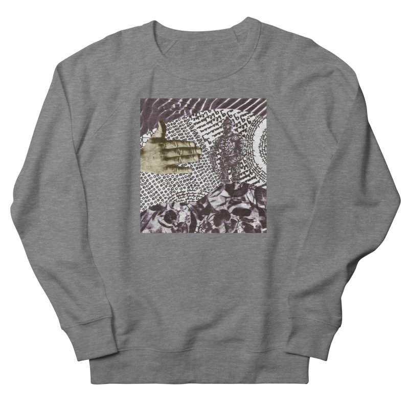 Wave Protection Men's French Terry Sweatshirt by Artist Shop of Pyramid Expander
