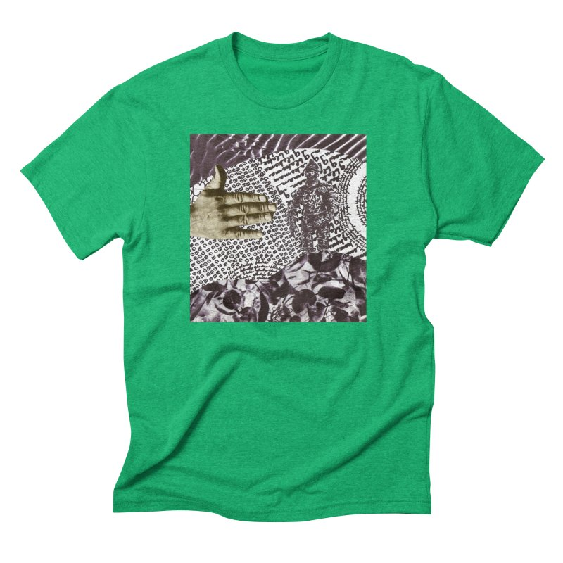 Wave Protection Men's Triblend T-Shirt by Artist Shop of Pyramid Expander