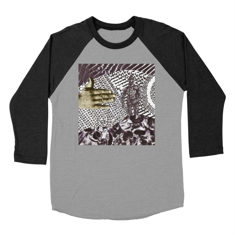 Wave Protection Women's Baseball Triblend Longsleeve T-Shirt by Artist Shop of Pyramid Expander