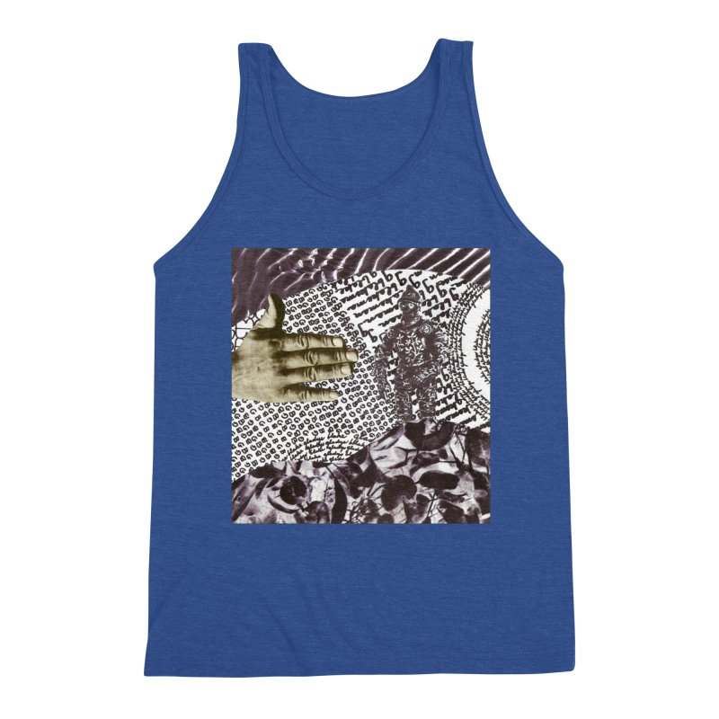 Wave Protection Men's Tank by Artist Shop of Pyramid Expander