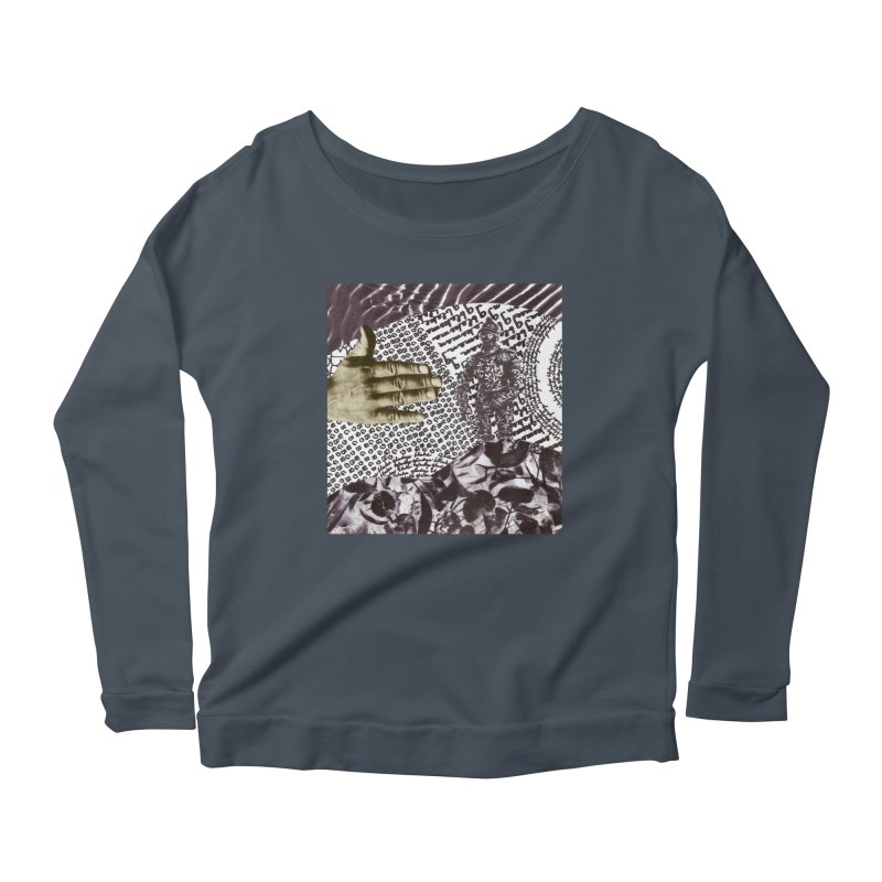 Wave Protection Women's Scoop Neck Longsleeve T-Shirt by Artist Shop of Pyramid Expander