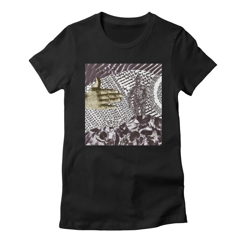 Wave Protection Women's Fitted T-Shirt by Artist Shop of Pyramid Expander