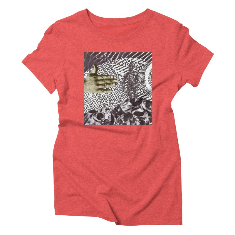 Wave Protection Women's Triblend T-Shirt by Artist Shop of Pyramid Expander